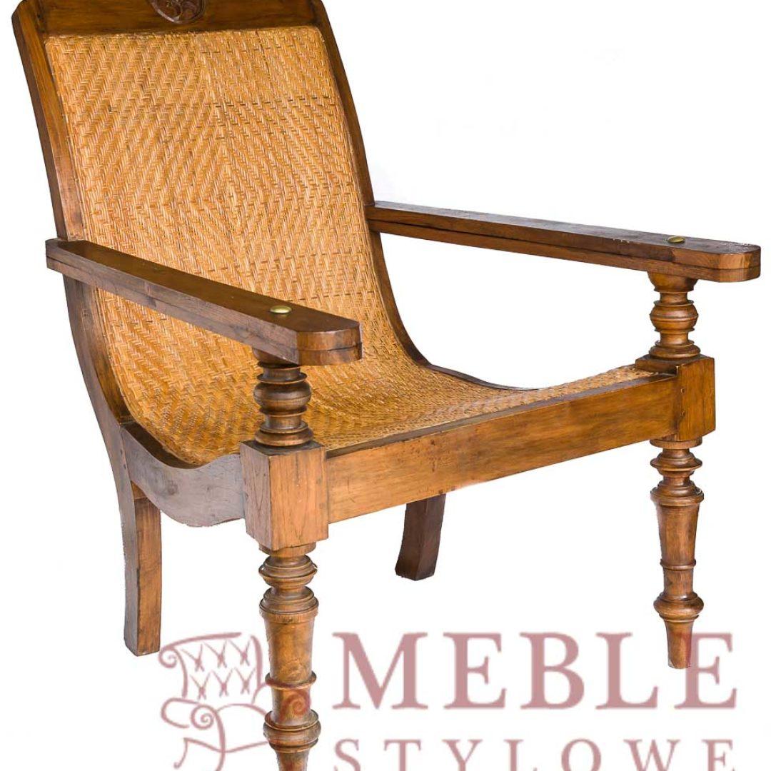 Meble – Stylowe, fotel eklektyk Rafia 20170502-_DSC4651