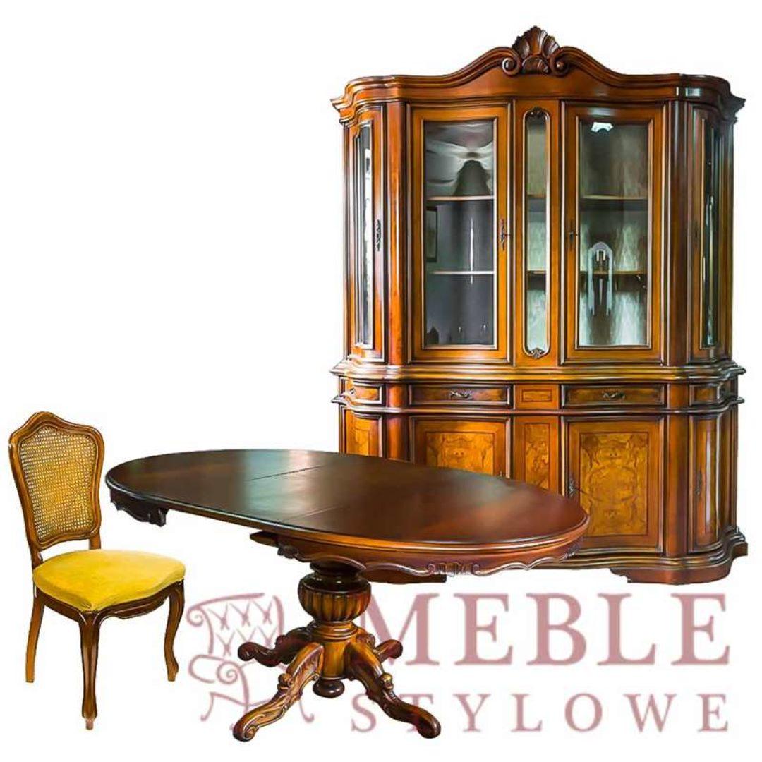 Meble – Stylowe, Witryna, stoł okrągły Witryna, stół okrągły_800x800